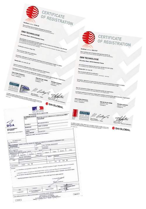 certifications-iso-normes-qualite-isolation-thermique-haute-temperature-DBM-Technologie